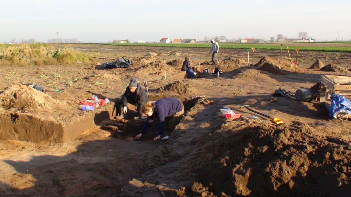 Excavation in the area of Gąski and Wierzbiczany. Photo by M. Rudnicki