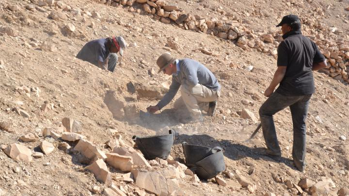 Wrocław archaeologists discovered unknown structures in Egypt