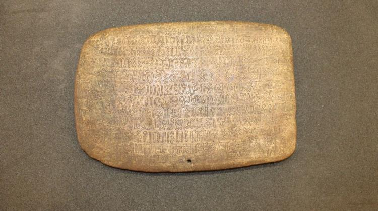 Rongorongo tablet. Source: Rafał Wieczorek