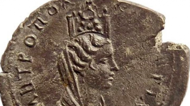 Reverse of Julia Domna coin from the mint in Caesarea, discovered in Apsaros (photo by P. Jaworski)
