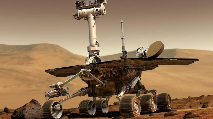 An undated NASA handout image of a Mars Rover. EPA/NASA. UK AND IRELAND OUT