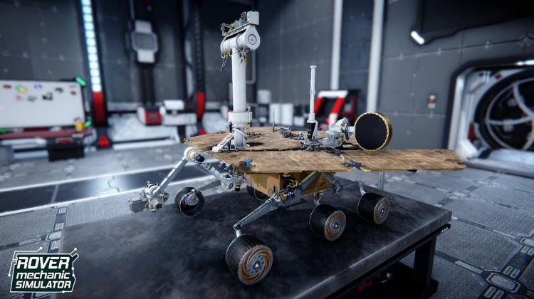 A Mars rover available in Rover Mechanic Simulator. Source: Pyramid Games SA